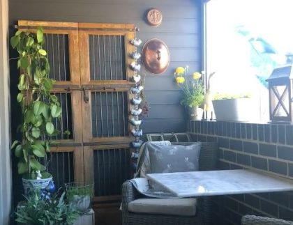 Easy install in Moonee Ponds - Balcony Gardens by DEEPDALE for Balcony Gardens Melbourne